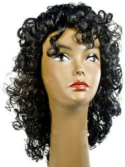 Michael Fancy Curly Wig