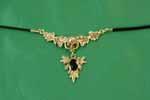 Skull & Leaf Pendant