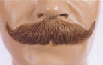 Full Size Upturned Moustache - 4
