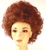 Teased-Up Beehive Wig