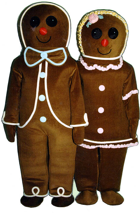 Gingerbread Girl (On Right Side Of Picture)