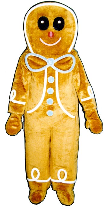 Gingerbread Boy Costume