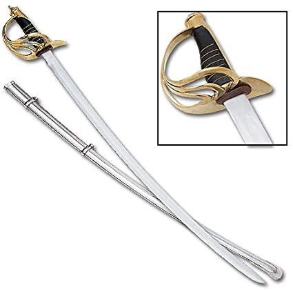 US Light Calvary Sword with Scabbard
