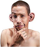 Ear-EE:F/X Latex Prosthetic