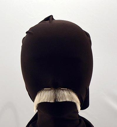 Downturn Human Hair Santa Mustache