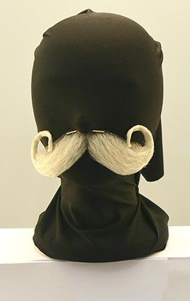 Classic Santa Claus Mustache