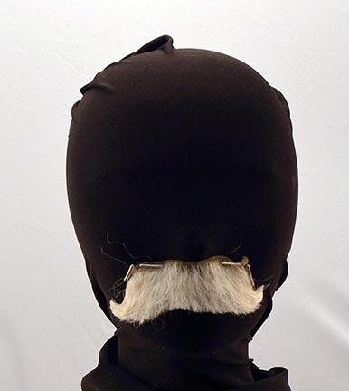 Yak Hair Flair-Out Santa Mustache