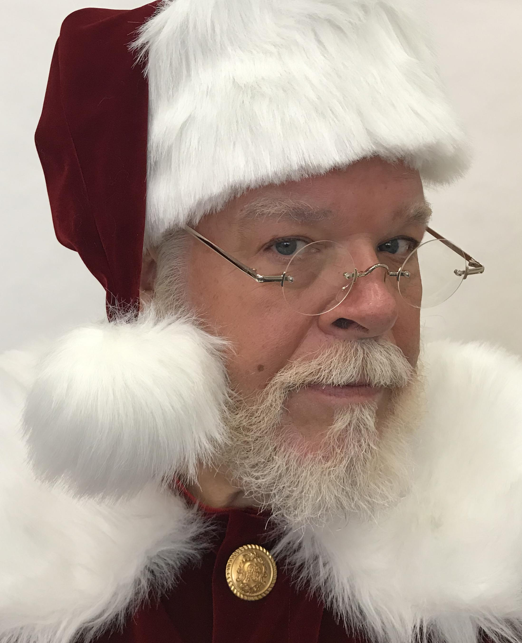 Planetsanta Deluxe Rimless Santa Glasses