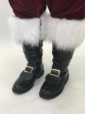Santa Claus Shoe Buckles