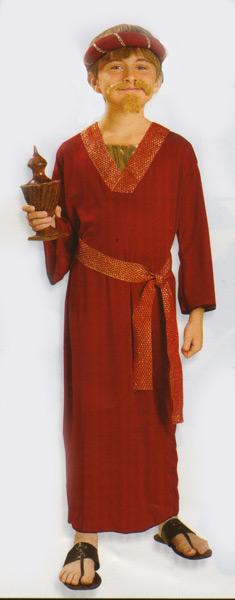 Children's Burgundy Wiseman
