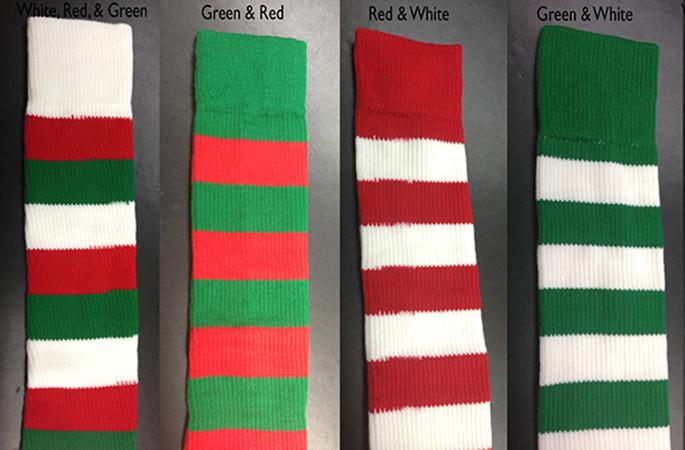 Deluxe Elf & Santa Socks