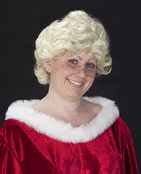 Short N Sassy Mrs Claus Wig