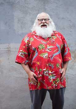 Santa In The Tropics Hawaiian Shirt
