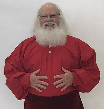 Holly Red Santa Shirt