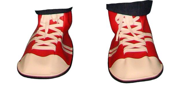 Hard Soled Mascot Shoe Feet
