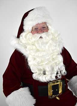 Santa Wig, Beard & Mustache - Supreme quality