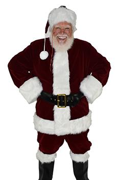 Premium Quality Velvet Santa Suit