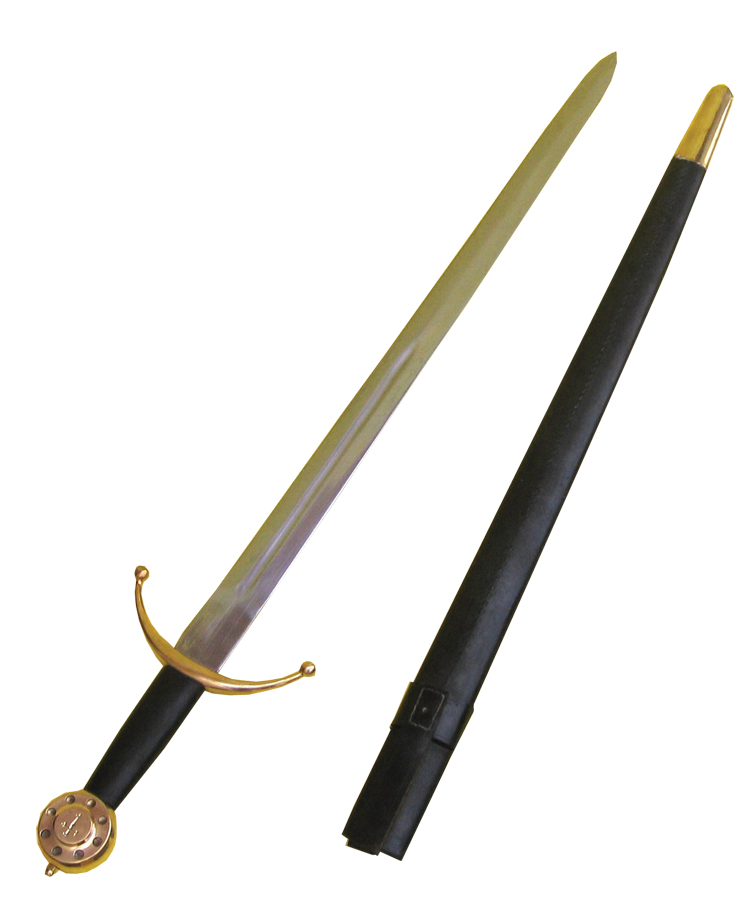 15th Century Sword and Scabbard