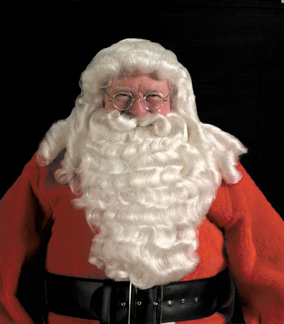 Santa Wig, Beard & Mustache  - Great Quality Extra Full