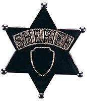 Jumbo Sheriff's Badge