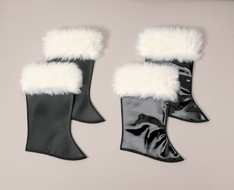 Deluxe Plush Vinyl Boot Tops