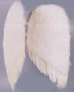 """Feather Angel Wings (36"""")"""