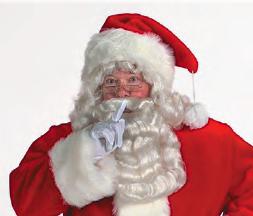 Pro Plush Replacement Santa Hat
