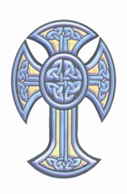 Celtic Cross Temporary Tattoo