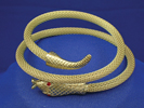 Woven Snake Arm Band