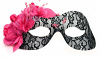 Cecilia Mask Black and Pink