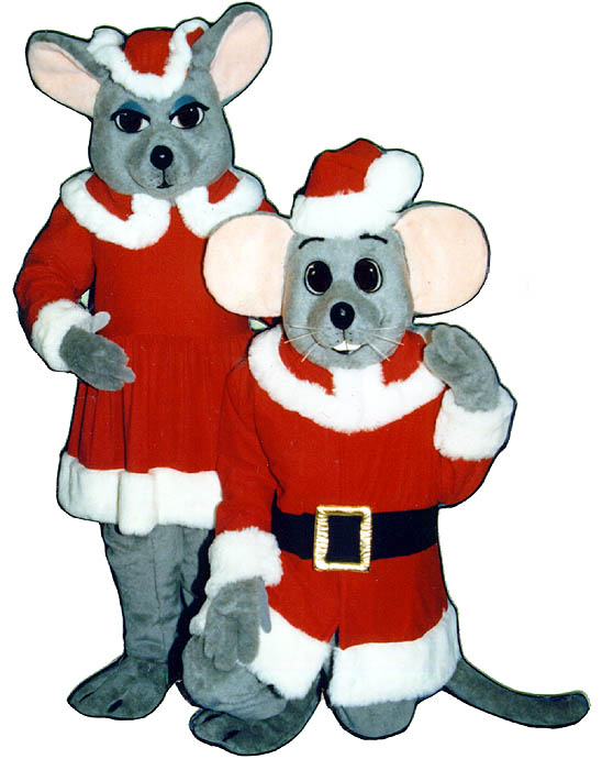 Christmas Mouse (On Right Side Of Picture)